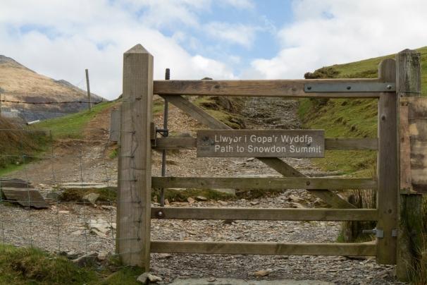 gate to snowdon